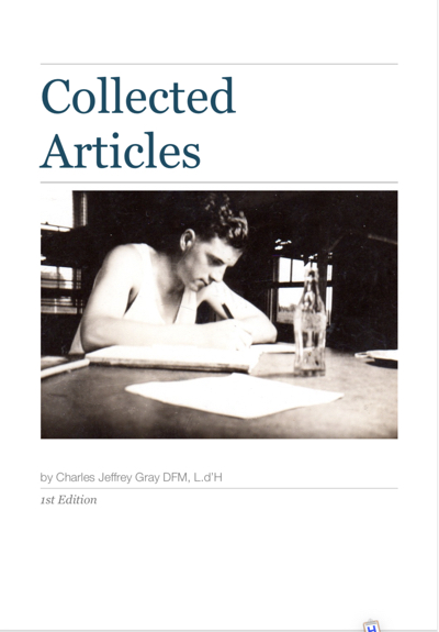 Collected Articles Cover